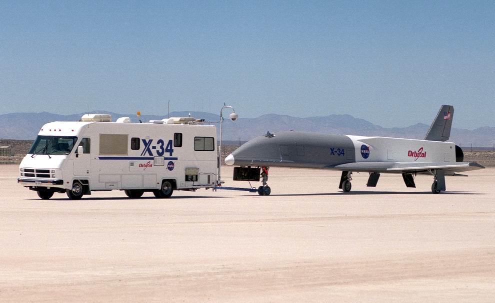 Prototypes.com/La saga des Lifting Bodies/XXI. X-34, X-37 et X-40A